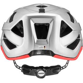 UVEX Active CC Helmet silver-orange matt